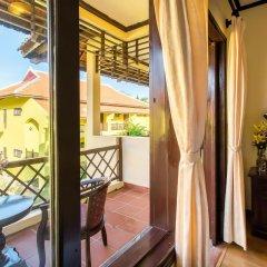 Отель Agribank Hoi An Beach Resort 3* Номер Делюкс с различными типами кроватей фото 10