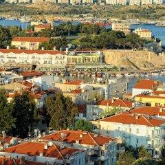 Karacam Турция, Фоча - отзывы, цены и фото номеров - забронировать отель Karacam онлайн приотельная территория фото 2