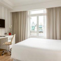 Отель NH Collection Brussels Centre 4* Улучшенный номер с двуспальной кроватью фото 3