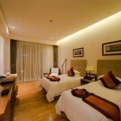 Отель Mingshen Golf & Bay Resort Sanya 4* Стандартный номер с различными типами кроватей фото 3