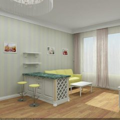 Отель East Legend Panorama 4* Стандартный семейный номер с двуспальной кроватью фото 2