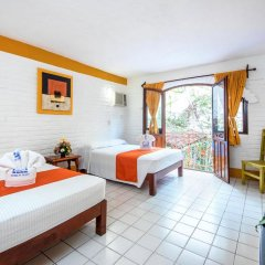 Hotel Hacienda de Vallarta Centro 3* Стандартный семейный номер с двуспальной кроватью фото 3