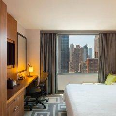 Отель Hilton Garden Inn New York/Central Park South-Midtown West 3* Стандартный номер с двуспальной кроватью фото 6