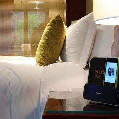 Отель Hilton Guangzhou Science City 4* Улучшенный номер с различными типами кроватей фото 3