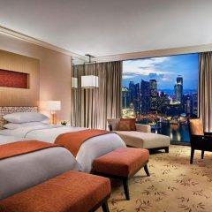 Отель Marina Bay Sands 5* Номер Делюкс с 2 отдельными кроватями