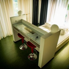 Гостиница Вилла Атмосфера 4* Номер Делюкс с различными типами кроватей фото 4