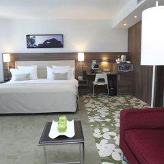 Отель Meliá Düsseldorf 4* Люкс разные типы кроватей фото 5