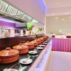 Отель Bali Paradise Hotel Греция, Милопотамос - отзывы, цены и фото номеров - забронировать отель Bali Paradise Hotel онлайн питание фото 2