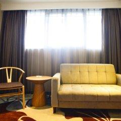 Отель Insail Hotels Railway Station Guangzhou 3* Номер Делюкс с двуспальной кроватью фото 15