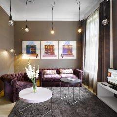 Отель INNSIDE by Melia Prague Old Town 4* Улучшенный номер разные типы кроватей фото 5