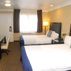Отель Hollywood Inn Express South США, Лос-Анджелес - отзывы, цены и фото номеров - забронировать отель Hollywood Inn Express South онлайн комната для гостей фото 5
