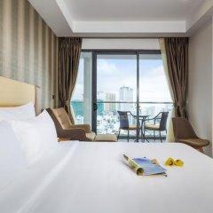 Sen Viet Premium Hotel Nha Trang 4* Номер Делюкс с двуспальной кроватью фото 9