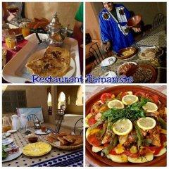 Отель Kasbah Tamariste Марокко, Мерзуга - отзывы, цены и фото номеров - забронировать отель Kasbah Tamariste онлайн питание