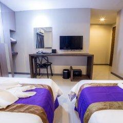 Отель Cubic Pratunam 3* Номер Делюкс с различными типами кроватей фото 4