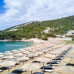 Отель Thassos Grand Resort пляж