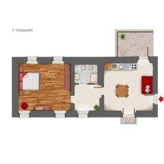 Отель Albergo Diffuso Polcenigo P.Lacchin Корденонс бассейн