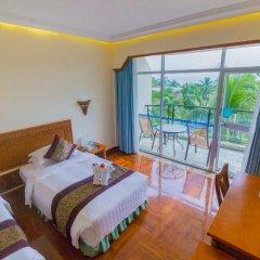 Sanya South China Hotel 4* Стандартный номер с различными типами кроватей фото 9