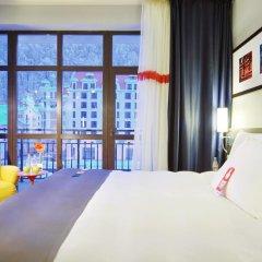 Гостиница Парк Инн от Рэдиссон Роза Хутор (Park Inn by Radisson Rosa Khutor) 4* Люкс с двуспальной кроватью