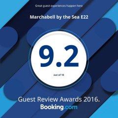 Отель Marchabell by the Sea E22 Апартаменты с различными типами кроватей фото 36