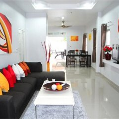 Отель Green Leaf Nai Harn 3 bedrooms Villa комната для гостей фото 2