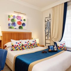 Отель Hôtel Waldorf Trocadéro 4* Стандартный номер с различными типами кроватей