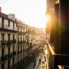 Отель Off Beat Guesthouse Испания, Сан-Себастьян - отзывы, цены и фото номеров - забронировать отель Off Beat Guesthouse онлайн балкон
