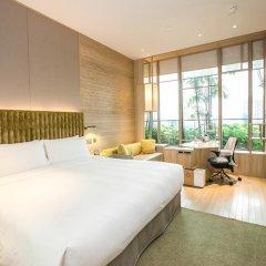 Отель PARKROYAL on Pickering 5* Улучшенный номер с различными типами кроватей фото 2