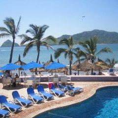 Отель Las Flores Beach Resort пляж фото 2