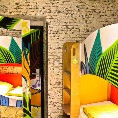 Chillout Hostel Zagreb Кровать в общем номере с двухъярусной кроватью фото 6