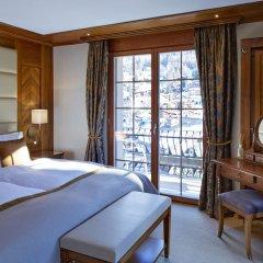 Grand Hotel Zermatterhof 5* Стандартный номер с различными типами кроватей фото 4