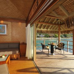 Отель InterContinental Resort and Spa Moorea 4* Бунгало с различными типами кроватей фото 6