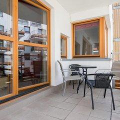 Апартаменты Bizzi LuxChelmska Apartments Варшава балкон