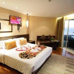 Отель A-One Pattaya Beach Resort 4* Номер Делюкс с различными типами кроватей фото 11