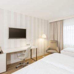Hotel NH Düsseldorf City Nord 4* Стандартный номер разные типы кроватей фото 11