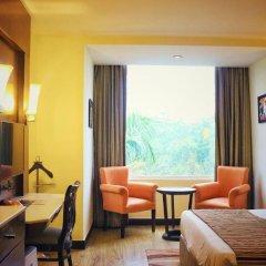 Отель City Park Airport 3* Представительский номер с различными типами кроватей фото 21