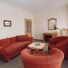 Отель Pension Villa Rosa 3* Люкс с различными типами кроватей фото 5