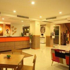 Отель Prom Ratchada Residence Таиланд, Бангкок - отзывы, цены и фото номеров - забронировать отель Prom Ratchada Residence онлайн интерьер отеля