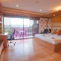 Отель Rocco Huahin Condominium Студия с различными типами кроватей фото 46