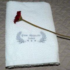 Отель Great Alexander Suites Албания, Саранда - отзывы, цены и фото номеров - забронировать отель Great Alexander Suites онлайн ванная