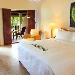 Отель Hilton Mauritius Resort & Spa 5* Номер Делюкс с двуспальной кроватью фото 4