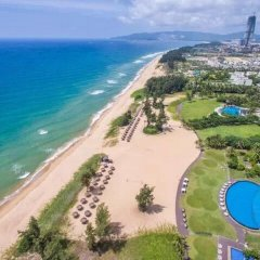 Отель DoubleTree Resort by Hilton Sanya Haitang Bay пляж фото 2