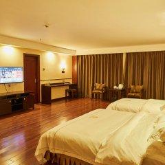 Отель Zhongshan Tianhong Hotel Китай, Чжуншань - отзывы, цены и фото номеров - забронировать отель Zhongshan Tianhong Hotel онлайн комната для гостей фото 4