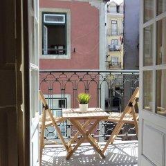 Отель Lisbon Historic Center Apartments Португалия, Лиссабон - отзывы, цены и фото номеров - забронировать отель Lisbon Historic Center Apartments онлайн балкон