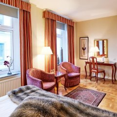 Hotel Royal 3* Улучшенный номер с двуспальной кроватью фото 6
