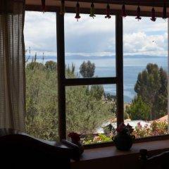 Отель Casa Inti Lodge Стандартный номер с различными типами кроватей (общая ванная комната) фото 12