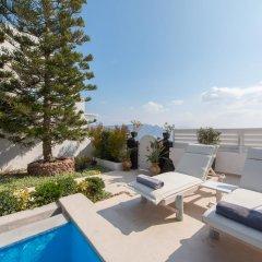 Отель Santorini Secret Suites & Spa 5* Вилла Junior с различными типами кроватей фото 21