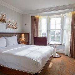 Отель Hilton London Hyde Park 4* Улучшенный номер с различными типами кроватей фото 2