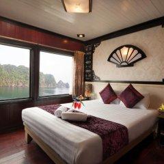 Отель Halong Aclass Legend Cruise 3* Номер Делюкс с различными типами кроватей фото 8