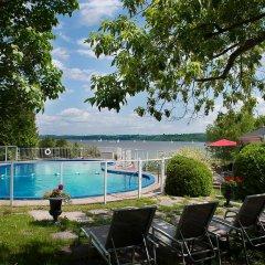 Отель Auberge La Goeliche Канада, Орлеан - отзывы, цены и фото номеров - забронировать отель Auberge La Goeliche онлайн бассейн