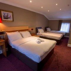 Newham Hotel 2* Стандартный семейный номер с двуспальной кроватью фото 4